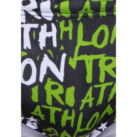 Turbo Triathlon Brief Men Green/White